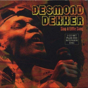Desmond Dekker - Sing A Little Song - 2 CD Album ( Plus bonus DVD ) - Secret Records Limited