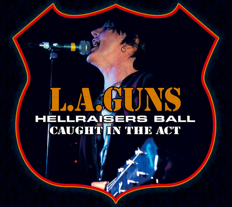 L.A. Guns - Hellraisers Ball - CD Album - Secret Records Limited