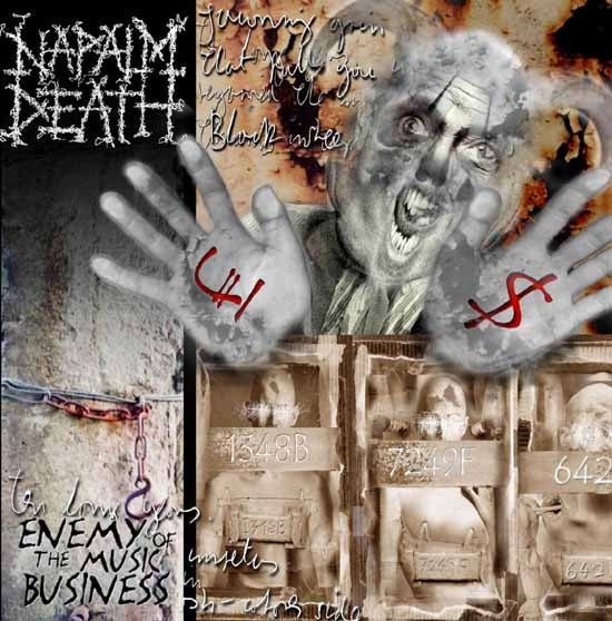 Napalm Death - Enemy of The Music Business/Leaders Not Followers - CD Album - Secret Records Limited