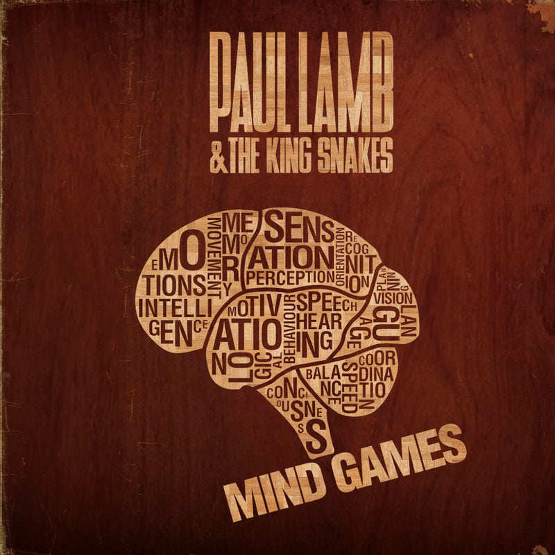 Paul Lamb & The King Snakes - Mind Games - CD Album - Secret Records Limited