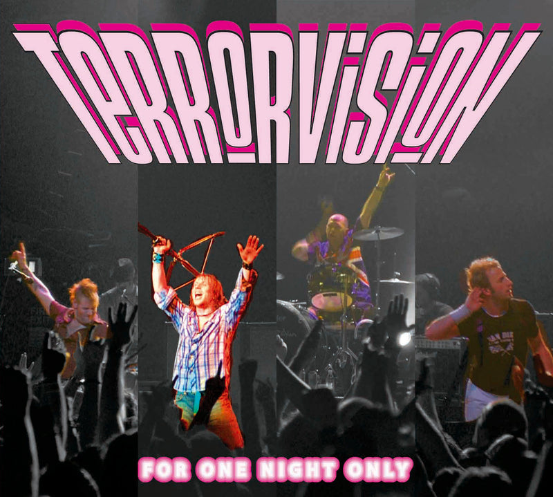 Terrorvision - For One Night Only - CD Album - Secret Records Limited