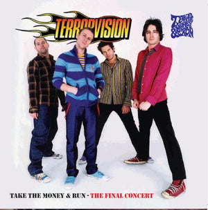Terrorvision - Take The Money And Run - CD Album - Secret Records Limited