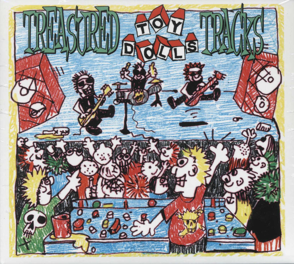 The Toy Dolls - Treasured Toy Dolls Tracks - CD Album - Secret Records Limited
