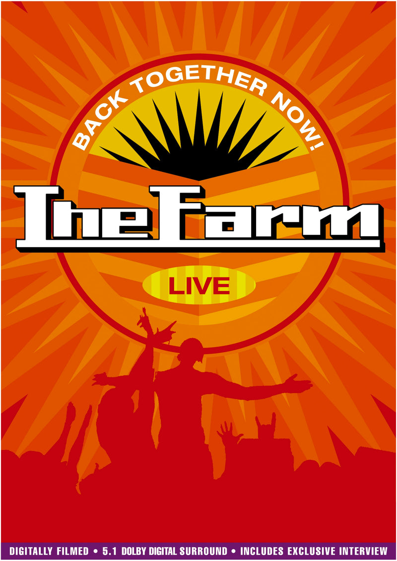 The Farm - Back Together Now - DVD - Secret Records Limited