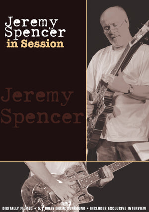 Jeremy Spencer - In Session - DVD - Secret Records Limited