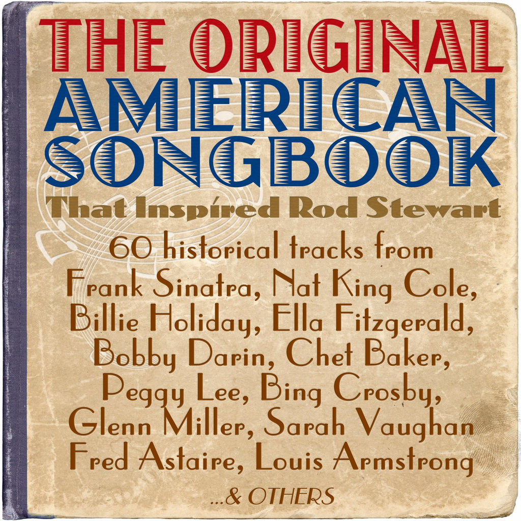 The Original American Songbook That Inspired Rod Stewart - 3CD Album - 3CD Album - Secret Records Limited
