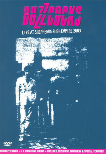 The Buzzcocks - Live At Shepherds Bush Empire 2003 - DVD - Secret Records Limited