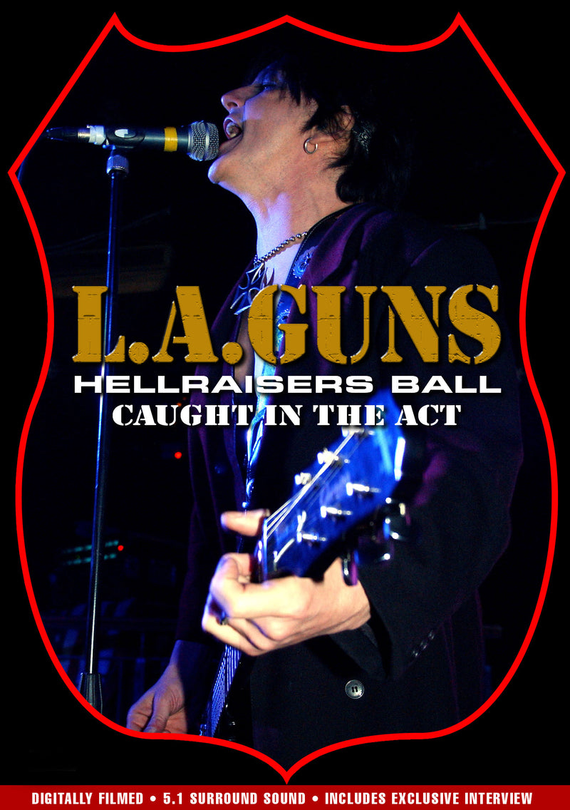 L.A. Guns - Hellraisers Ball - DVD - Secret Records Limited