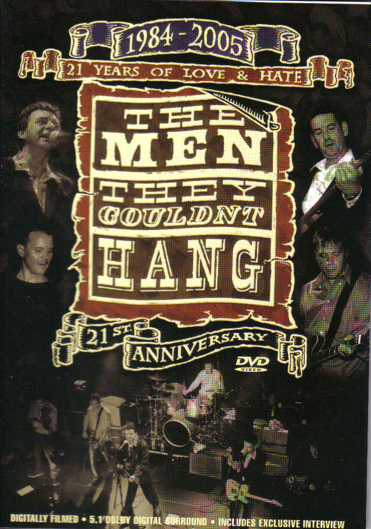 The Men They Couldn't Hang - 21 Years Of Love & Hate - DVD - Secret Records Limited