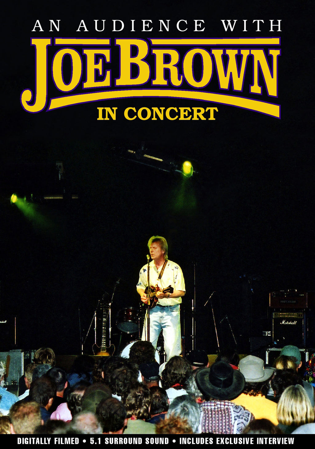 Joe Brown - An Audience With Joe Brown - DVD - Secret Records Limited