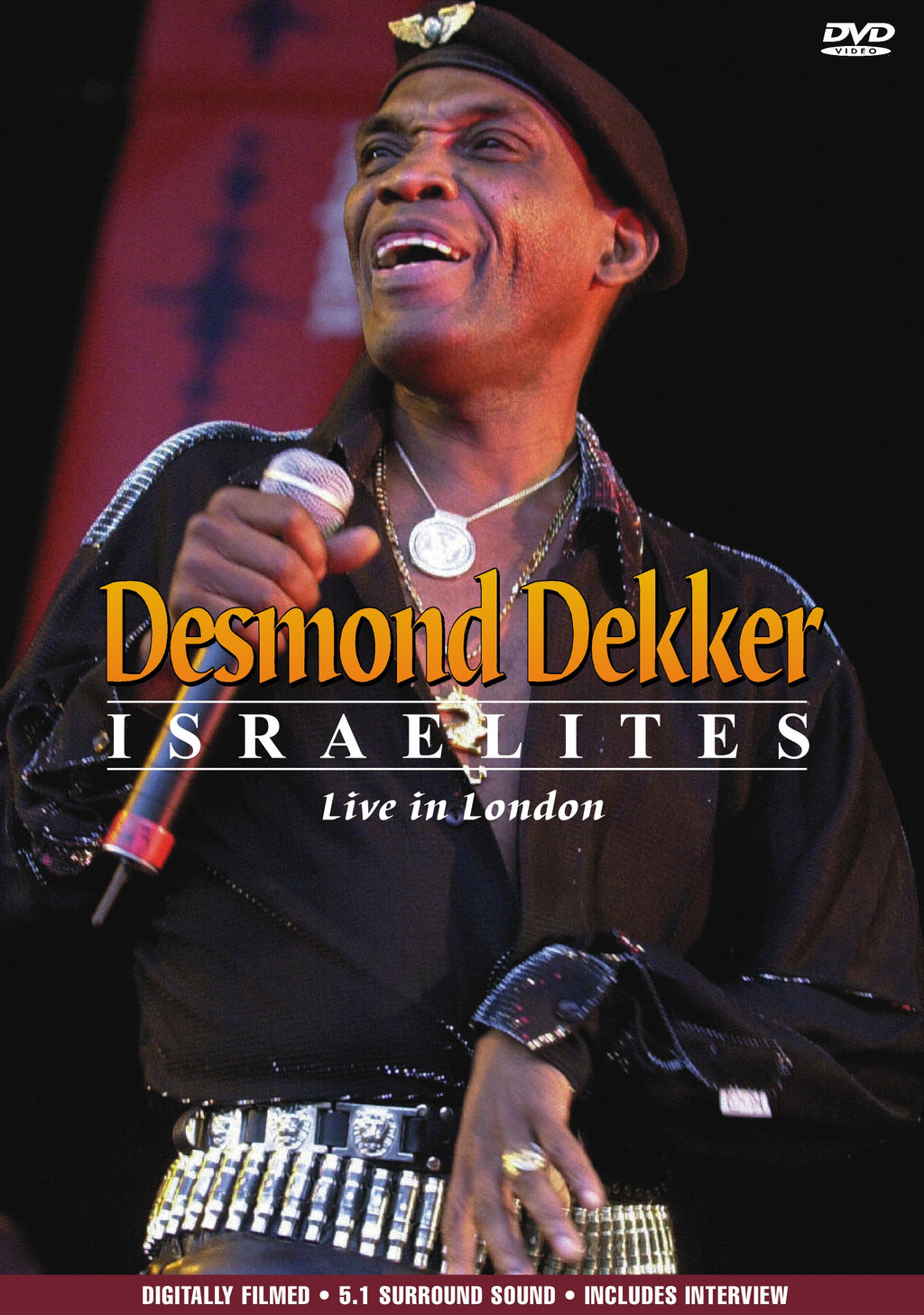 Desmond Dekker - Israelites Live In London - DVD - Secret Records Limited
