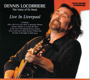 Dennis Locorriere - Live In Liverpool - 2CD+DVD Album - Secret Records Limited
