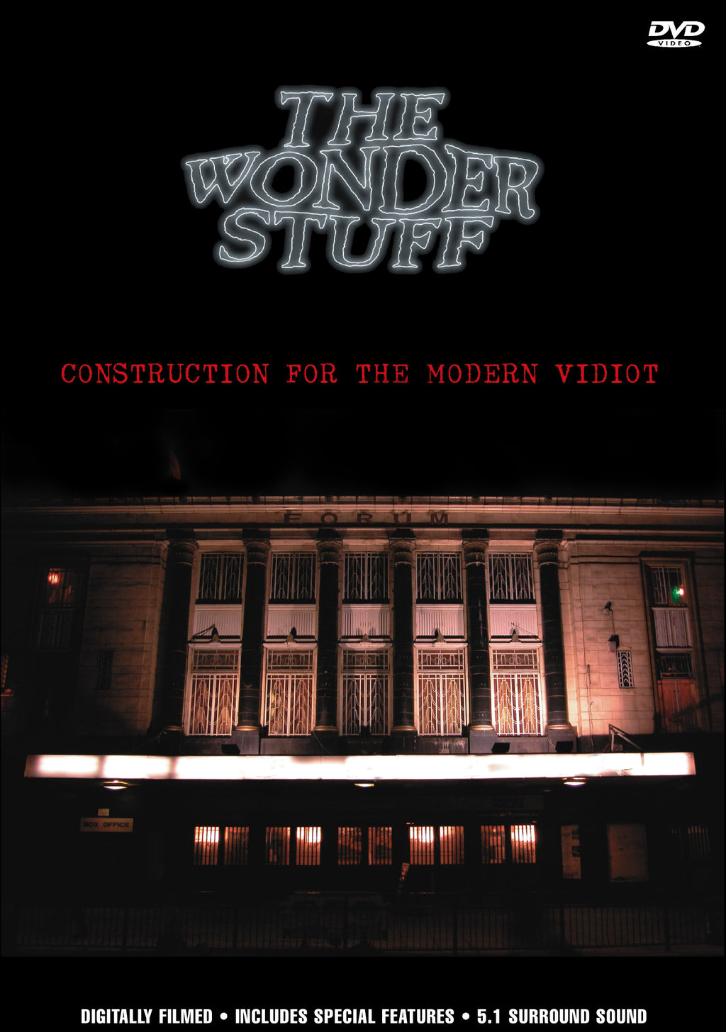 The Wonder Stuff - Construction For The Modern Vidiot - DVD - Secret Records Limited