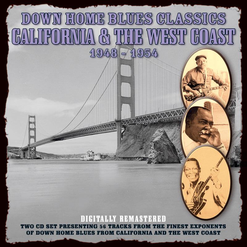 Various - Down Home Blues Classics California & The West Coast 1948 Volume 4 - 2CD Album - Secret Records Limited