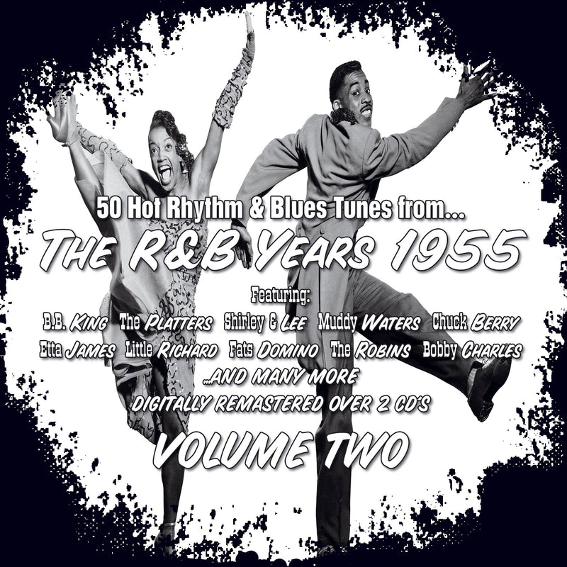 Various - The R&B Years 1955 Volume 2 - 2CD Album - Secret Records Limited