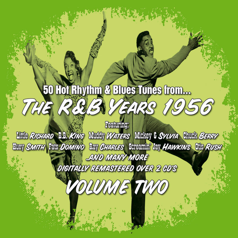 Various - The R&B Years 1956 Volume 2 - 2CD Album - Secret Records Limited
