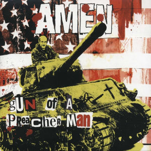 Amen - Gun Of A Preacher Man - CD Album - Secret Records Limited