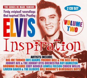 Various - Elvis Inspiration Vol. II - 40 Original Recordings That Inspired Elvis Presley - 2CD Album - Secret Records Limited