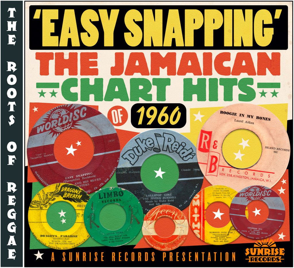 Various - Easy Snapping - The Jamaican Chart Hits of 1960 - CD Album - Secret Records Limited