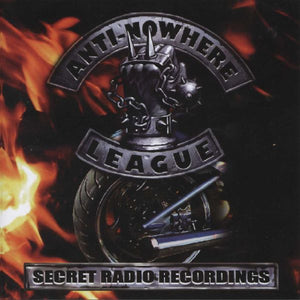 Anti-Nowhere League - Secret Radio Recordings - CD Album - Secret Records Limited