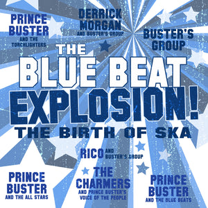 Various - Blue Beat Explosion - Vinyl LP - Secret Records Limited
