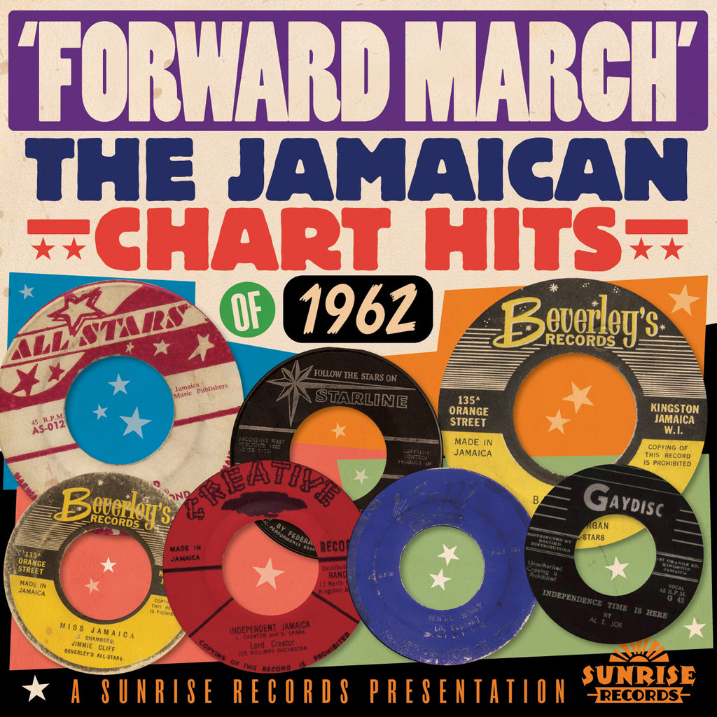 Various - Forward March: The Jamaican Chart Hits - Secret Records Limited