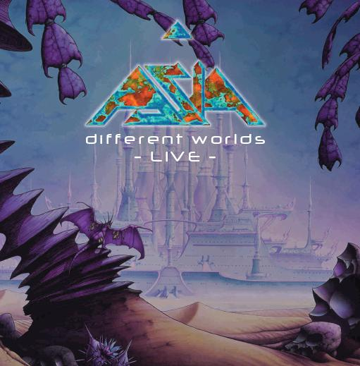 Asia - Different Worlds - 2CD Album - Secret Records Limited