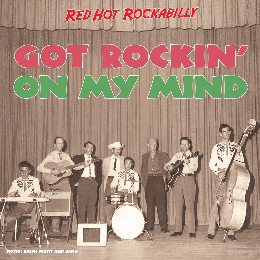 Various - Red Hot Rockabilly: Got Rockin' On My Mind - 2CD Album - Secret Records Limited