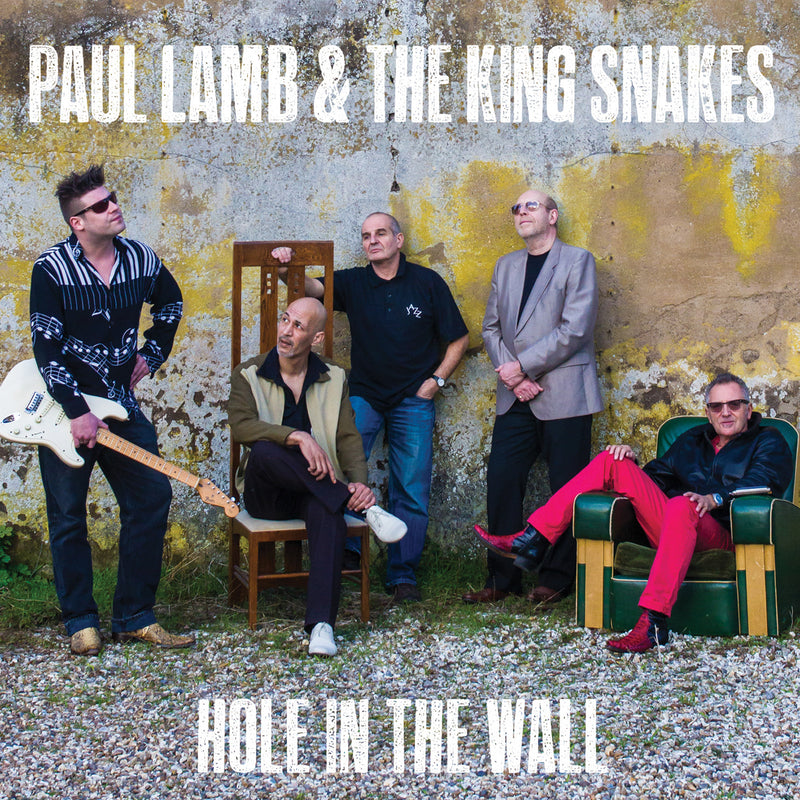 Paul Lamb & The King Snakes - Hole In The wall - CD Album - Secret Records Limited