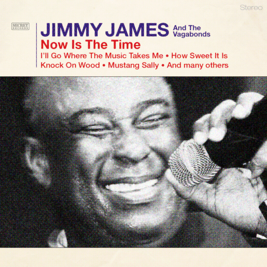 Jimmy James And The Vagabonds - Now Is The Time - CD+DVD Album - Secret Records Limited