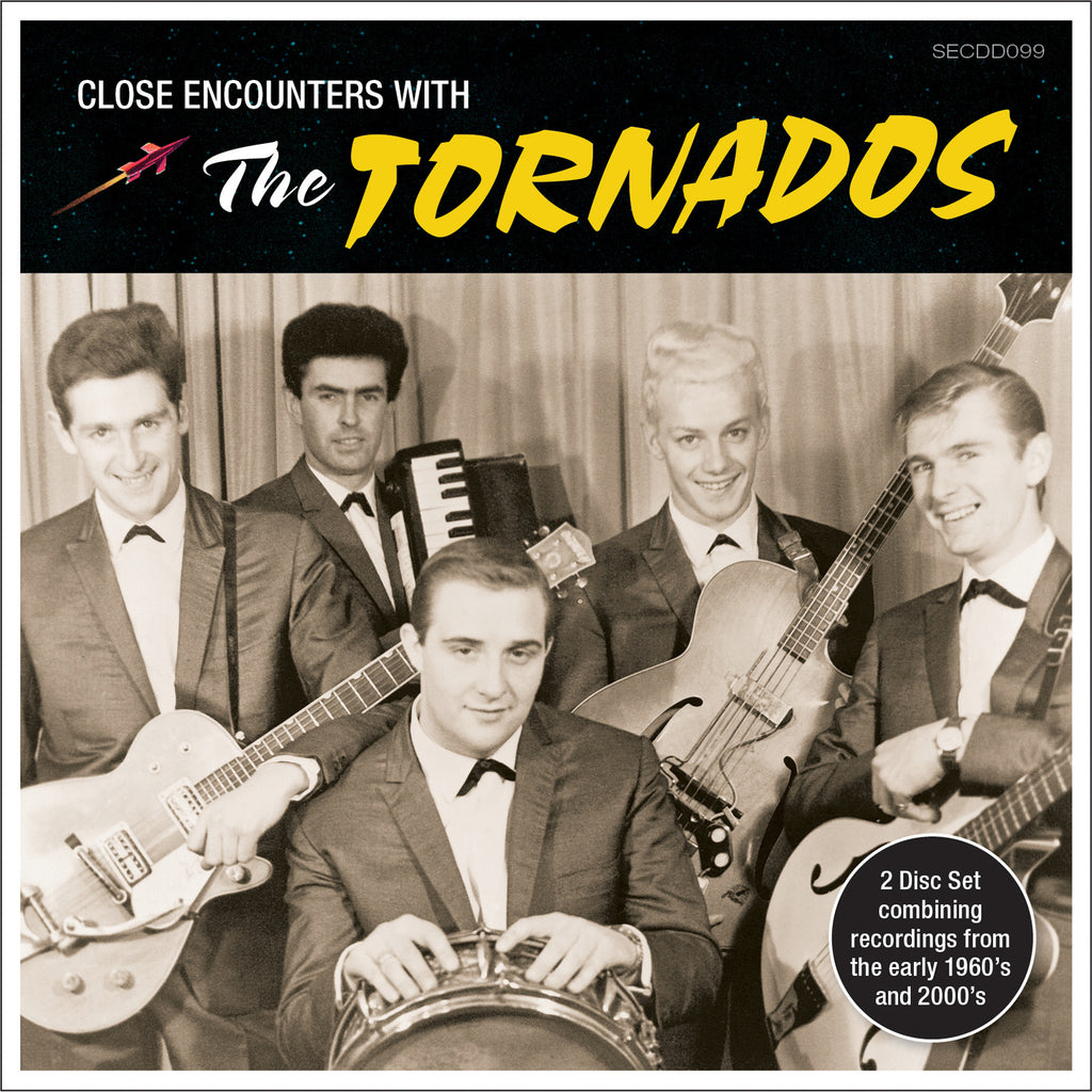 The Tornados - Close Encounters With The Tornados - 2CD Album - Secret Records Limited