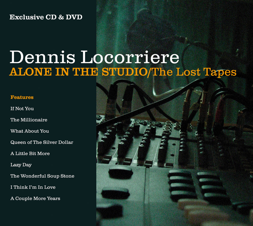 Dennis Locorriere - Alone In the Studio (The Lost Tapes) - CD+DVD Album - Secret Records Limited