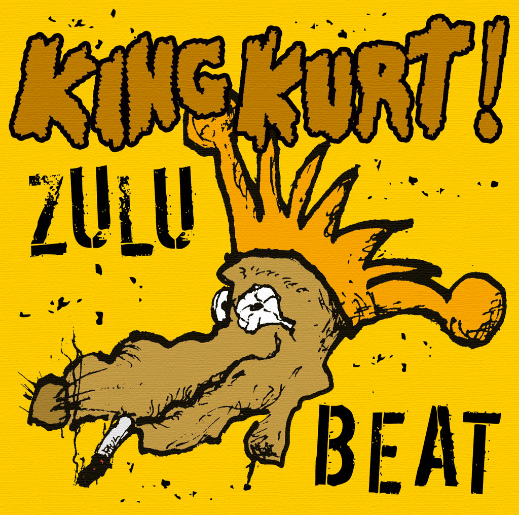 King Kurt - Zulu Beat - CD+DVD Album - Secret Records Limited