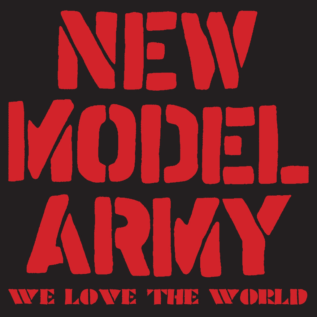 New Model Army - We Love The World - CD+DVD Album - Secret Records Limited