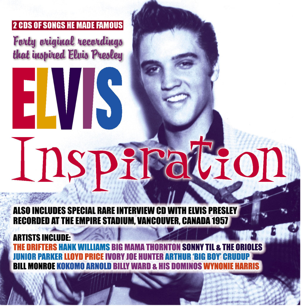 Various - Elvis Inspiration - 40 Original Recordings That Inspired Elvis Presley - 3CD Album - Secret Records Limited