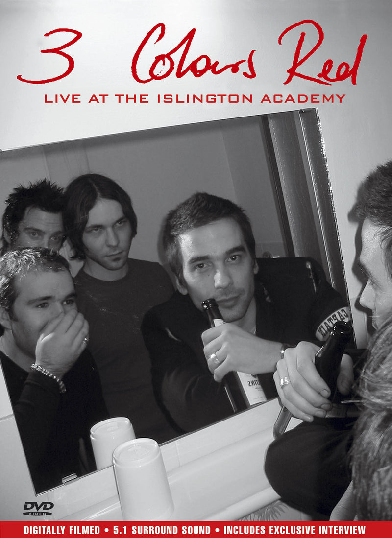 3 Colours Red - Live At The Islington Academy - DVD - Secret Records Limited