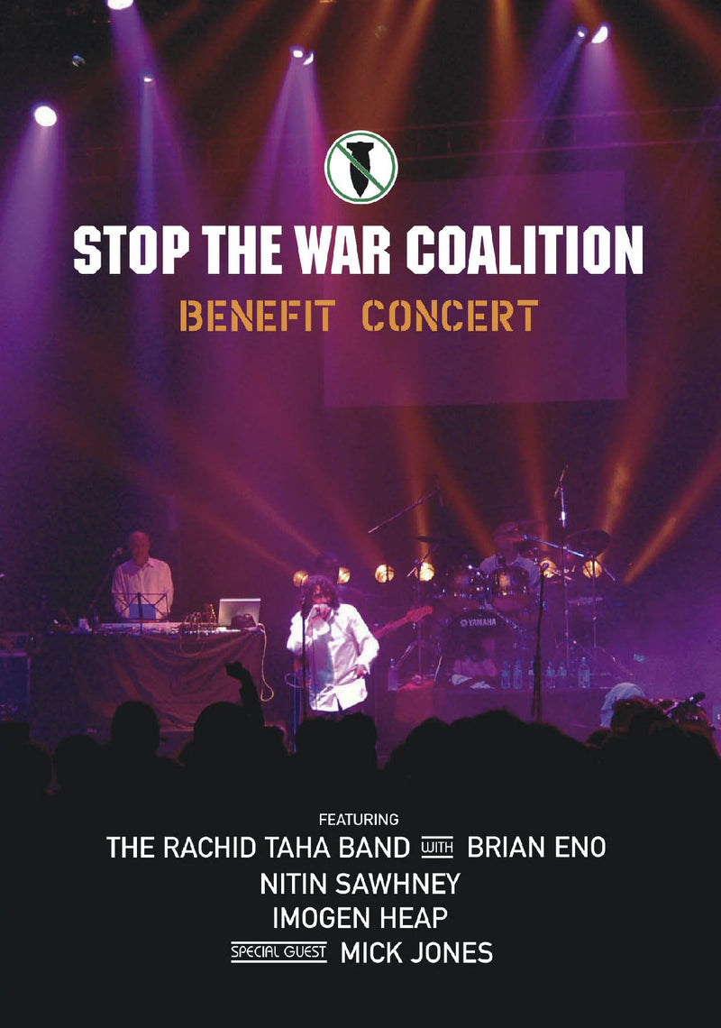 Stop The War Coalition - Benefit Concert - DVD - Secret Records Limited