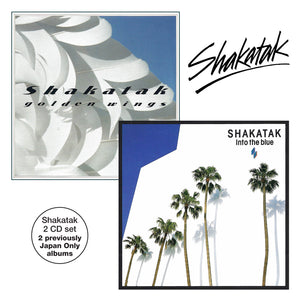 Shakatak - Golden Wings/Into The Blue - 2CD Album - Secret Records Limited