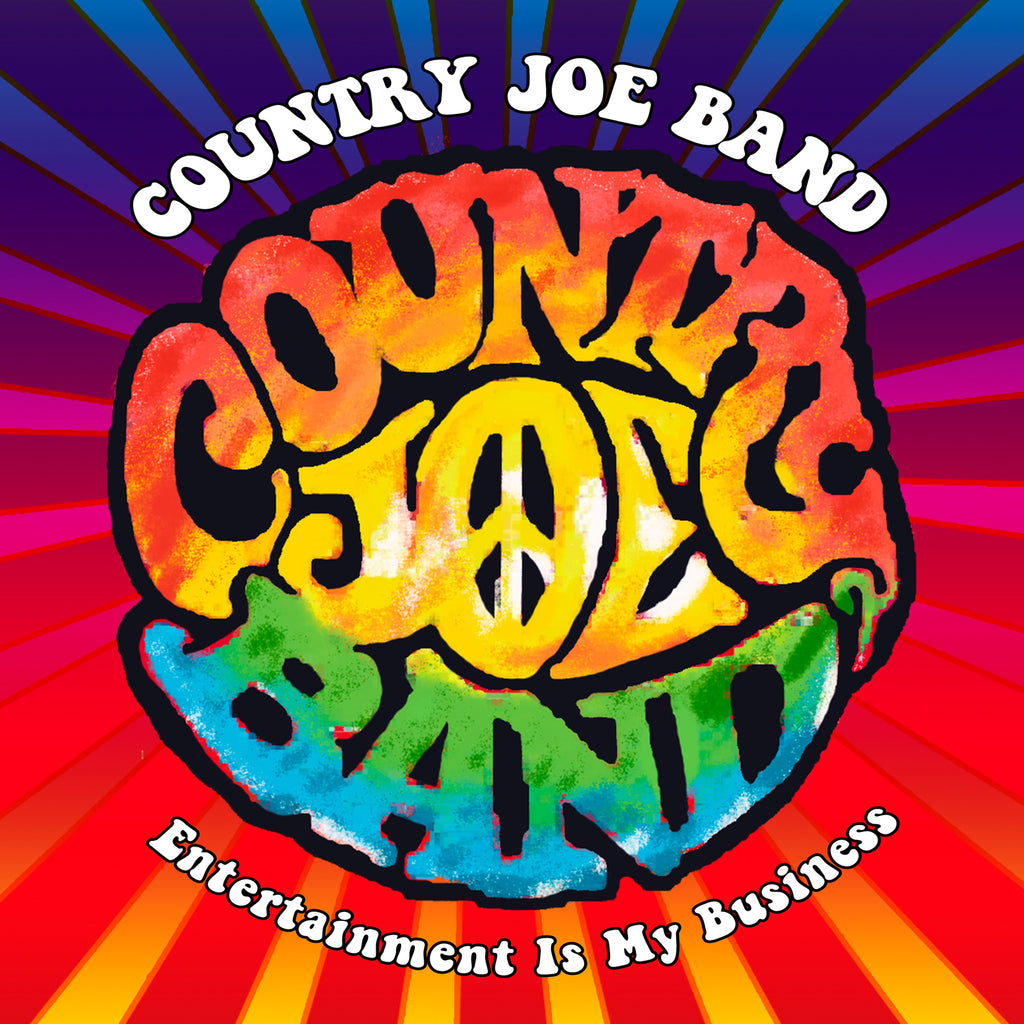 Country Joe Band - Entertainment Is My Business - 2CD+DVD Album - Secret Records Limited