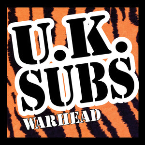 U.K. Subs - Warhead - CD+DVD Album - Secret Records Limited