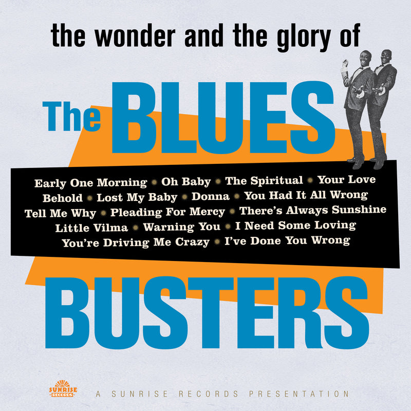 The Blues Busters - The Wonder And The Glory Of - Vinyl LP - Secret Records Limited