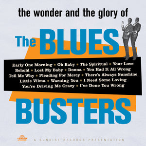 The Blues Busters - The Wonder And The Glory Of - CD Album - Secret Records Limited