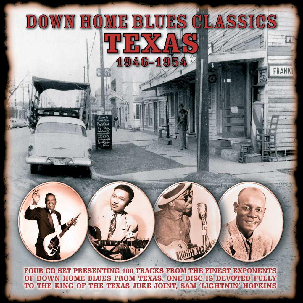Various - Down Home Blues Classics - Volume 2 Texas - Secret Records Limited