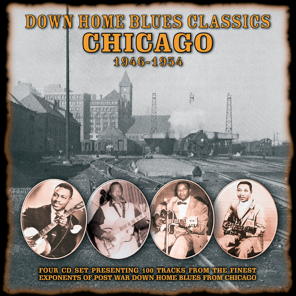 Various - Down Home Blues Classics 1946-1954 - 4CD Album - Secret Records Limited