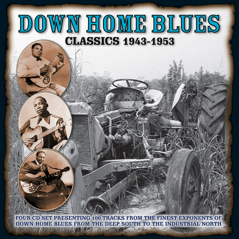Various - Down Home Blues Classics 1943-1953 - 4CD Album - Secret Records Limited