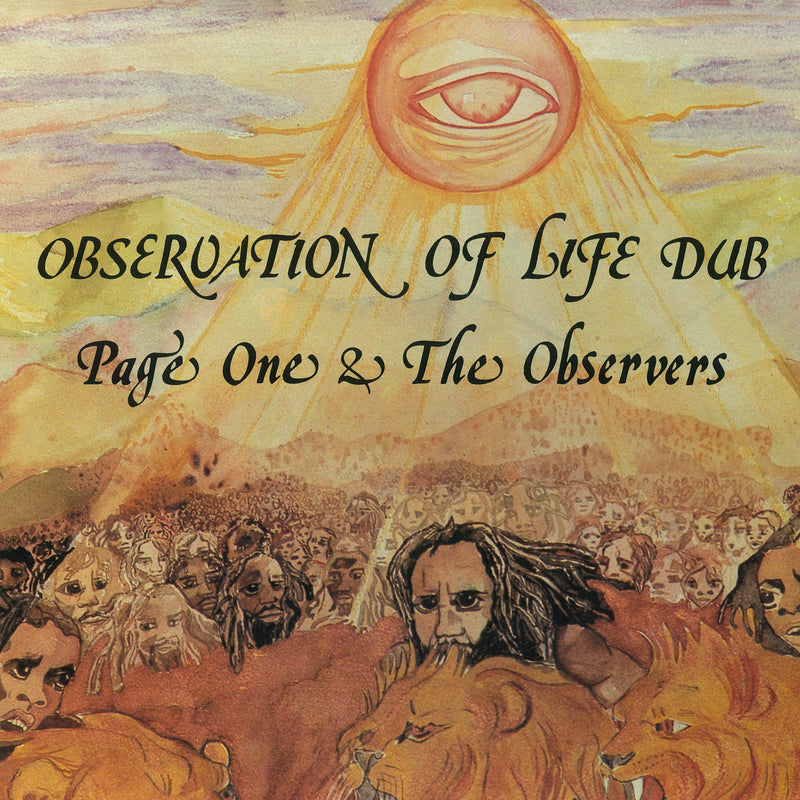 Page One & The Observers - Observation Of Life Dub - Vinyl LP - Secret Records Limited