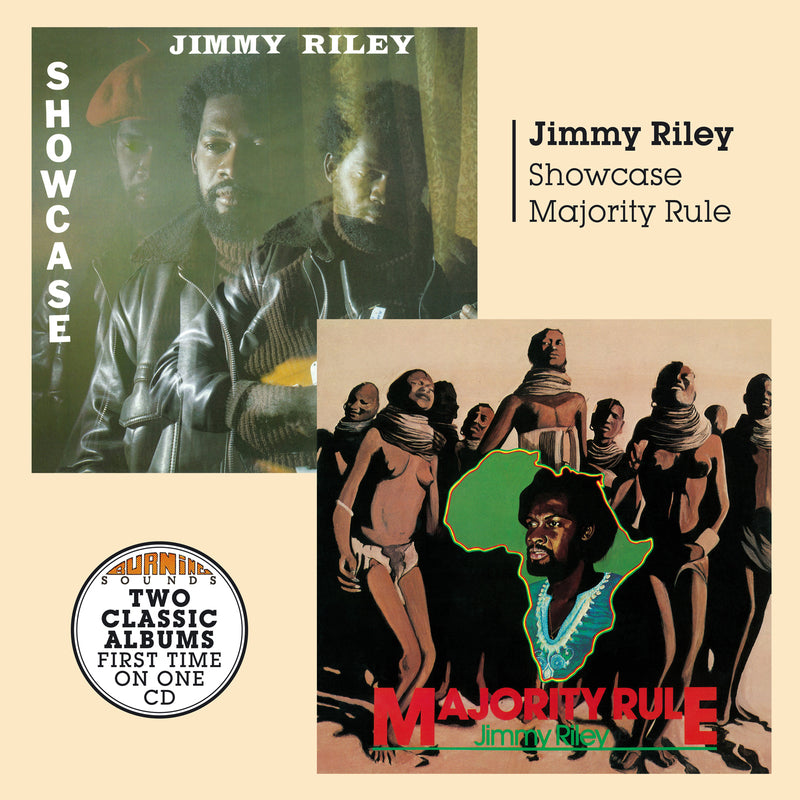 Jimmy Riley - Showcase + Majority Rule - CD Album - Secret Records Limited
