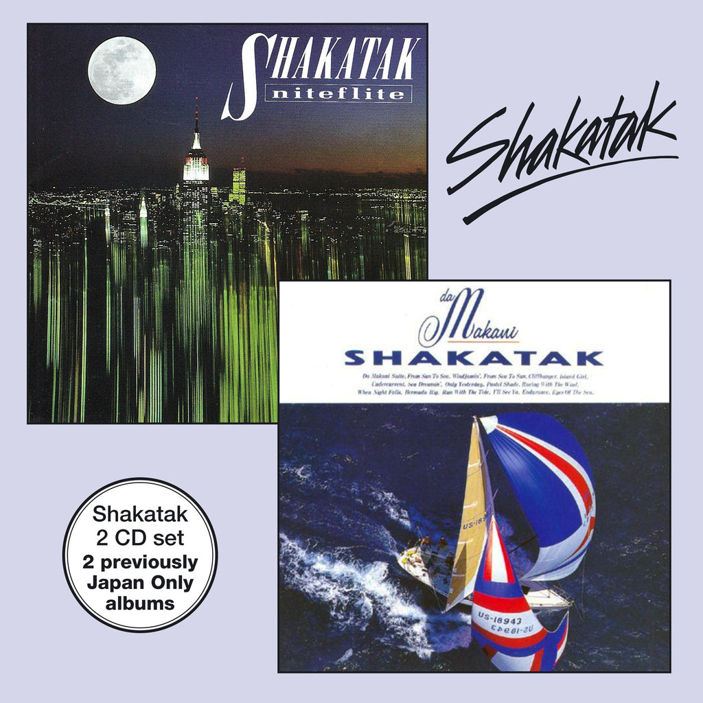 Shakatak - Da Makani & Niteflite - Secret Records Limited