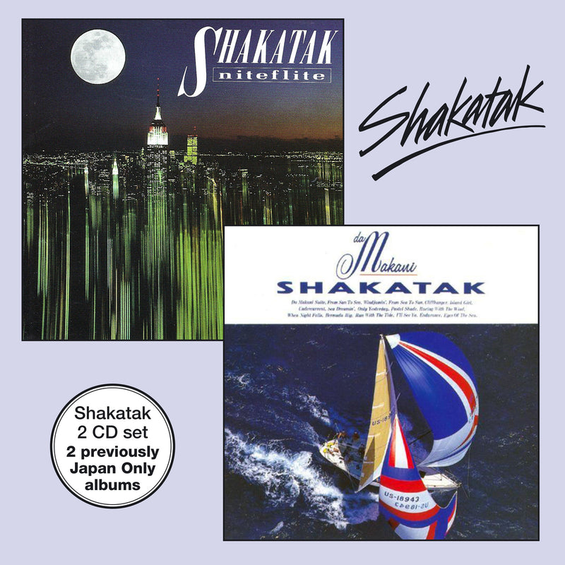 Shakatak - Da Makani & Niteflite - 2CD Album - Secret Records Limited