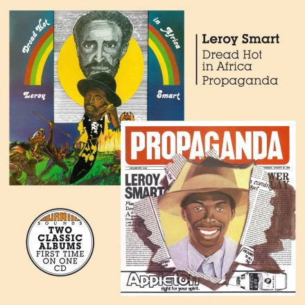Leroy Smart - Dread Hot in Africa + Propaganda - CD Album - Secret Records Limited